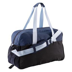Sporttasche Fitness 30 l blau/schwarz/grau