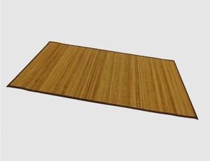 Bambusteppich braun