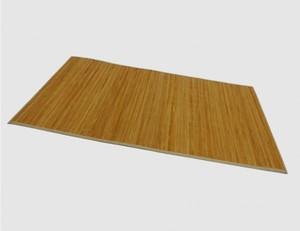 Bambusteppich beige