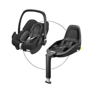 Maxi-Cosi  ROCK i-Size Babyschale incl. FamilyFix One i-Size nomad black
