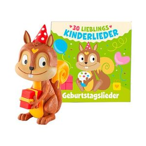 tonies   Tonie Hörfigur 30 Lieblings-Kinderlieder - Geburtstagslieder