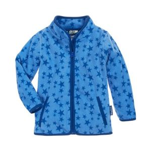 Playshoes   Fleecejacke Sterne blau