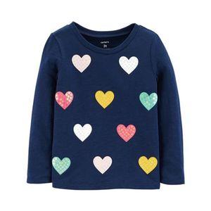 CARTER´S   Shirt langarm Herzen