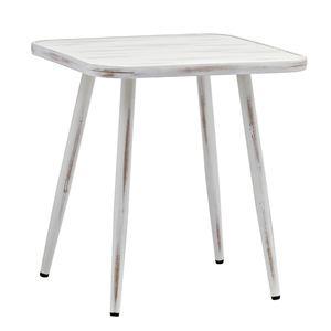 METRO Professional Vintage Alu Tisch Weiß