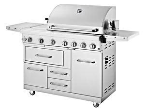 METRO Professional Profi-BBQ-Küche Edelstahlgasgrill