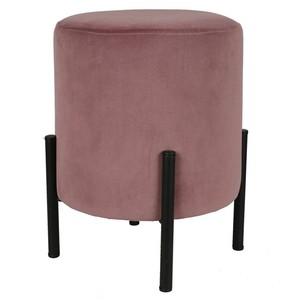Design-Hocker rund, 30cm, rosa