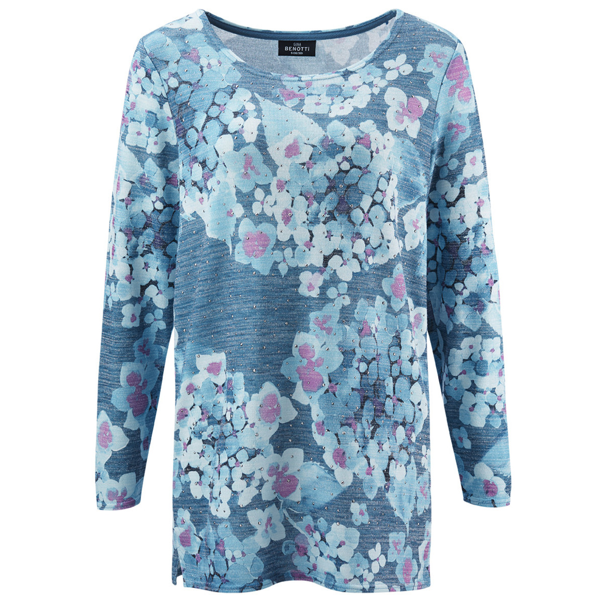Bild 1 von Damen Pullover mit Ziersteinchen
