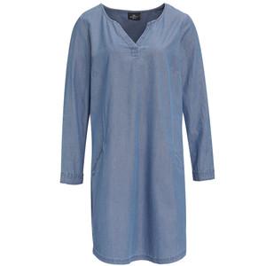 Damen Kleid in Jeans-Optik