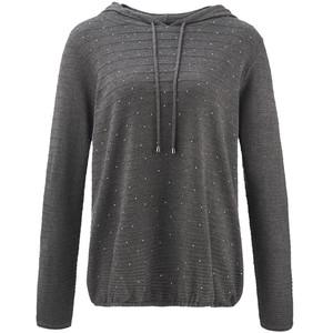 Damen Pullover mit Ziersteinchen