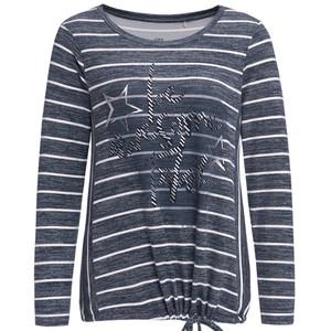 Damen Langarmshirt mit Print