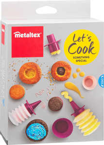 METALTEX  Cupcake- und Muffin-Backbox