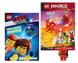 LEGO®  Buch Rätsel-Spiele-Lesespaß