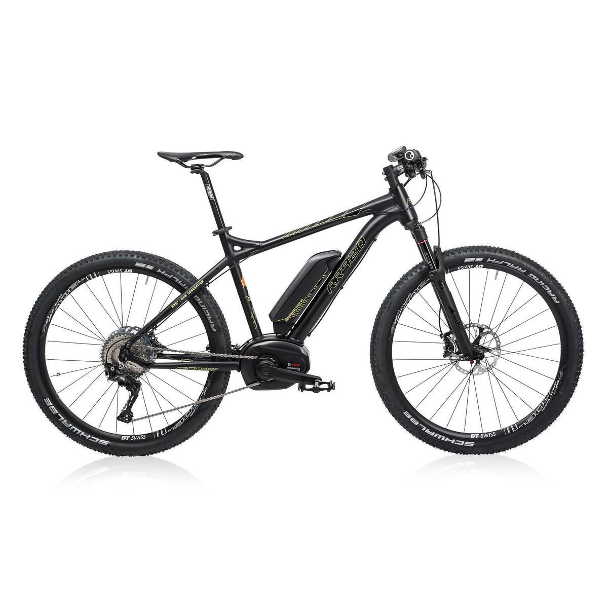 Bild 6 von E-MTB RR920 Performance CX 2018 500WH Alu schwarz/gelb