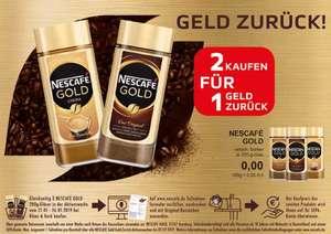 Kaffee Nescafé Gold, Mild oder Crema