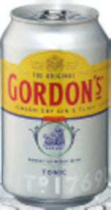 Gordon's Gin & Tonic/ Pink Gin & Tonic