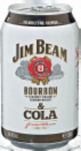 Jim Beam & Cola/ Cola Zero