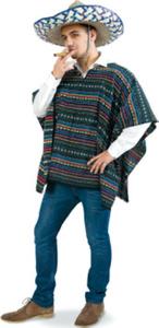 Poncho El Taco oder El Sandro Karneval Kostüm