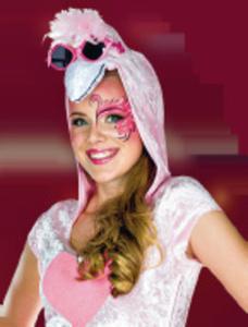 Karneval Kostüm Flamingo-Kleid