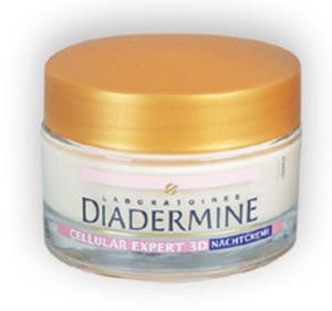 Diadermine Pflege-Serie Cellular Nachtcreme