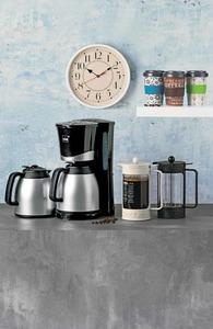 mia Kaffeeautomat KF 1734 mit 2 Thermoskannen