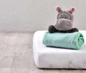 2er-Pack Spannbettlaken fürs Babybett