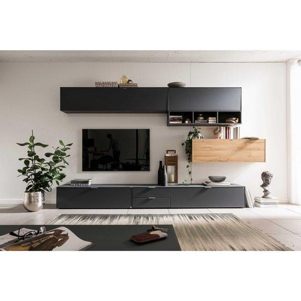 set one by musterring wohnwand 327 cm chicago von. Black Bedroom Furniture Sets. Home Design Ideas