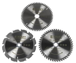Kraft Werkzeuge HW-Sägeblatt, Ø190mm, 3er Set