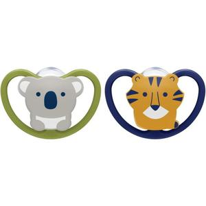 NUK Beruhigungssauger Space 0-6 Monate Koala & Tiger