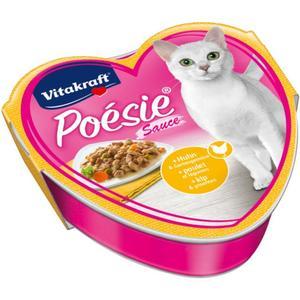 Vitakraft Poésie Sauce mit Huhn & Gartengemüse 0.58 EUR/100 g (15 x 85.00g)