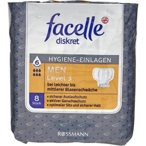 facelle Hygiene-Einlagen MEN Level 3
