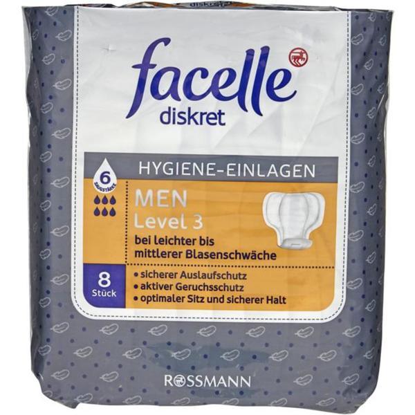 facelle Hygiene-Einlagen MEN Level 3