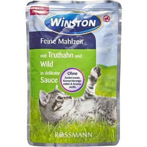 Winston Feine Mahlzeit mit Truthahn & Wild in delikater Sauce (24 x 100.00g)