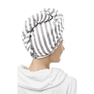 IDEENWELT Kopfhandtuch grau