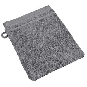 IDEENWELT Waschhandschuh grau