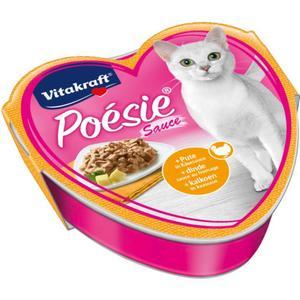 Vitakraft Poésie Sauce mit Pute in Käsesauce 0.58 EUR/100 g (15 x 85.00g)