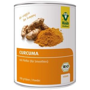 Raab Bio Curcuma Pulver 100 g