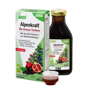Salus Bio Alpenkraft Bio-Immun-Tonikum 250 ml