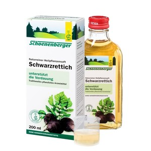Schoenenberger  Naturreiner Heilpflanzensaft Schwarzrettich