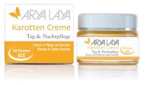 Arya Laya  Karotten Creme ACE Tag & Nachtpflege  50 ml
