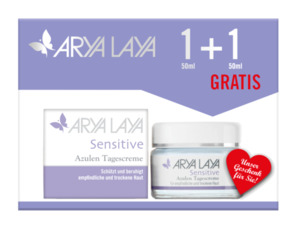 Arya Laya  Sensitive Azulen Tagescreme im Doppelpack 100 ml
