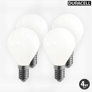 Duracell LED Vollglas Leuchtmittel Tropfen, 2W, 4er Pack