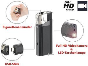 5in1 Octacam Spionage Feuerzeug-Kamera