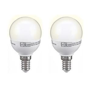 I-Glow LED-Mini Bulb, dimmbar, E14, 5,5W - 2er Set