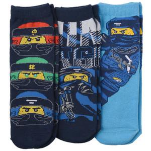 3 Paar LEGO Ninjago Socken im Set