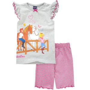 Bibi & Tina Schlafanzug mit Rüschen