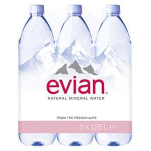 Evian Premium 6 x 1,25 Liter