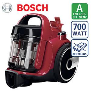 Bodenstaubsauger BGS05AAA2 · waschbarer PureAir-Hygienefilter · innovativer HiSpin-Motor für hohe Staubaufnahme bei niedrigem  Energieverbrauch · 9 m Aktionsradius · Energie-Effizienz A (Spektru