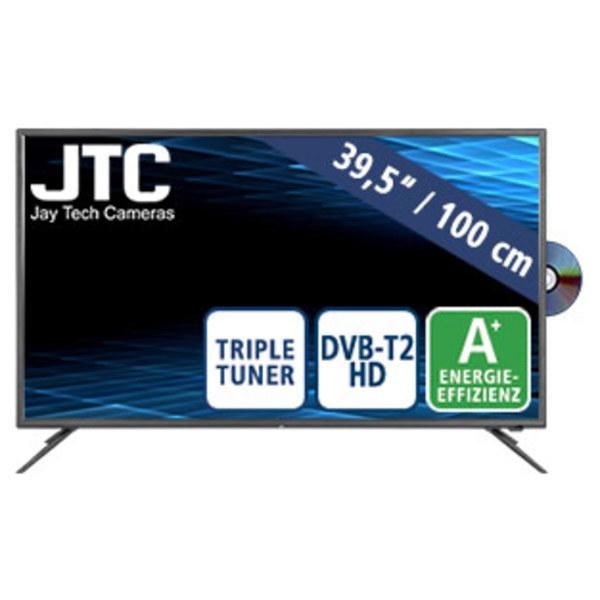 "40""-FullHD-LED-TV Atlantis FHD 4.0D • 3 HDMI-/2 USB-Anschlüsse, CI+ • Stand-by: 0,5 Watt, Betrieb: 46 Watt • Maße: H 52,2 x B 91,1 x T 9,5 cm • Energie-Effizienz A+ (Spektrum A++ bis E)"