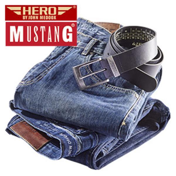 Herren Jeans, verschiedene Modelle, Waschungen und Größen, ab