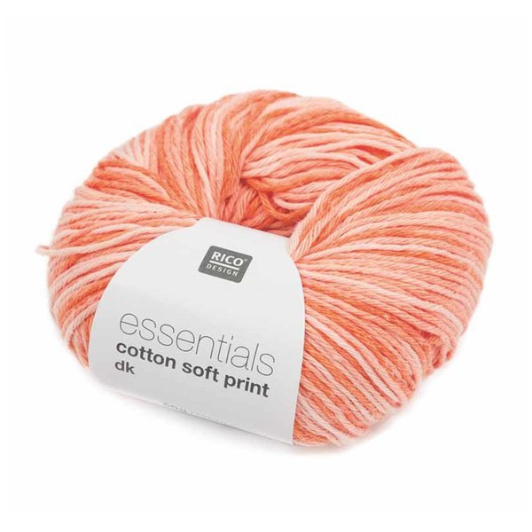 Rico Design Essentials Cotton soft print dk 50g 125m
